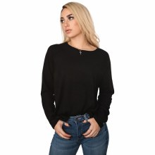 Black Raglan Long Sleeve Shirt