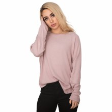 DUSTY PINK RAGLAN LONG SLEEVE