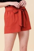 Paperbag Linen Shorts
