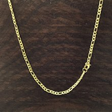 3mm Bronxton Figaro Stainless Steel Necklace