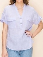 Front Button S/s Shirt