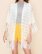 Tassel Knit Cardigan