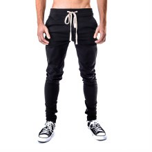 KAYDEN K BLACK ANKLE ZIP SKINNY PANTS S