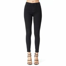 Black Gemma High Rise Jeans