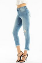 KC GEMMA HIGH RISE SKINNY DENM
