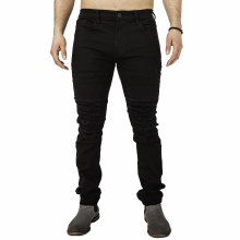 Kayden K Distressed Knee Slim Pants