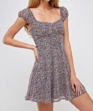 Floral Corset Mini Dress