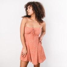 Spotted Mini Dress