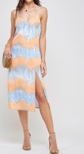 ESSUE TYE DYE MAXI DRESS