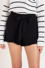 Ruffle High Waisted Shorts