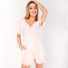 Lace Smocked Romper
