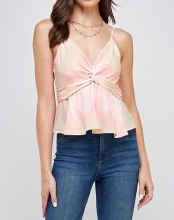 Front Knot Tank Top