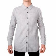 SOUL STAR GREY COOCHIE BUTTON-UP SHIRT