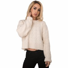 Lumiere Cable Knit Sweater