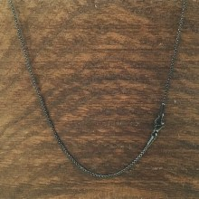 1.5mm Bronxton Rolo Stainless Steel Necklace