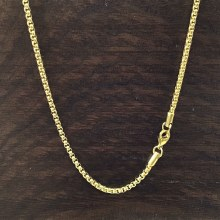 3mm Bronxton Rolo Stainless Steel Necklace