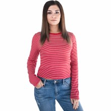 Broxton Long-sleeveRound-neck Striped Top