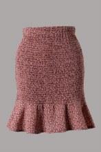 Printed Smock Mini Skirt