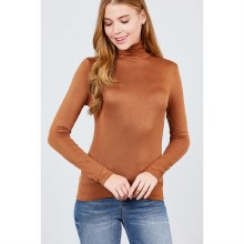 CINNAMON LONG SLEEVE TURTLE NE