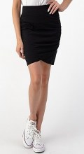 High Waist Side Ruched Skirt
