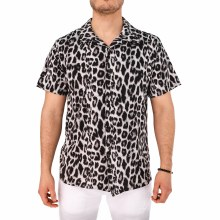 Weiv Leopard Print Button Down