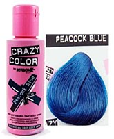 Crazy Colour Peacock Blue 45