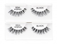 Demi Wispies Black 6pk Strip