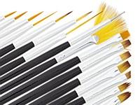 Nail Art Brush Set 16 pieces