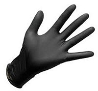 Nitrile Gloves LARGE Black