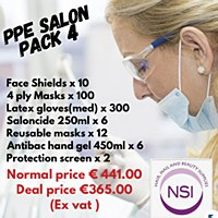 PPE SALON PACK 4