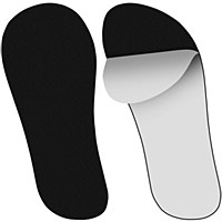 Sticky Feet Black (25pairs)