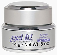 Gel it white it  0.5oz  D