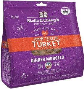 Stella & Chewy's 3.5oz Turkey Freeze Dried (Cat)