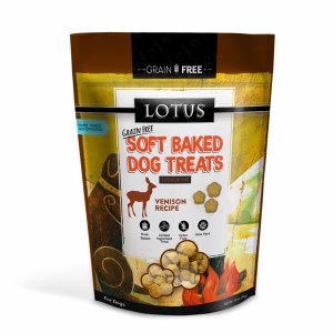 Lotus 10oz Baked Venison Treats