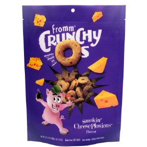 Fromm 6oz Crunchy O's Cheeseplosions