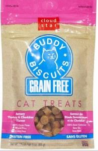 Buddy Biscuits 3oz Turkey Cheddar Cat Treats