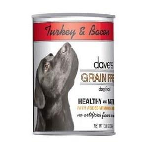 Dave's Grain Free Turkey & Bacon 13oz
