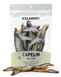 Iclandic Dog 2.5oz Whole Capelin