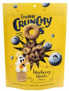 Fromm 6oz Crunchy O's Blueberry Blasts