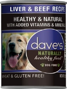 Dave's 13oz Naturally Healthy Liver & Beef