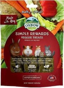 Oxbow 2oz Veggie Treats