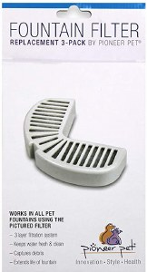 Replacement Filters 3 Pack (Ceramic & Stainless Steel Fountains) #3002