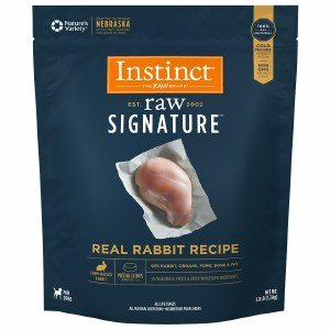Nature's Variety Instinct Frozen Rabbit Medallions 3lbs