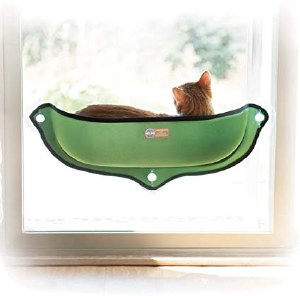 K&H EZ Mount Window Bed Green