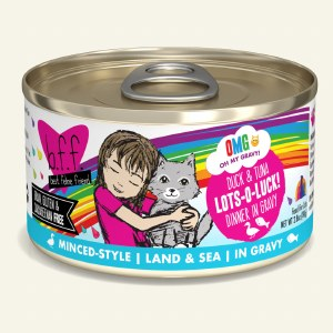 BFF 5.5oz OMG Duck & Tuna Lots O Luck