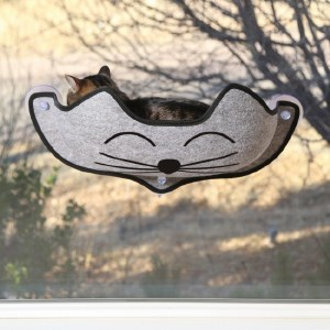 K&H Kitty Face Window Bed