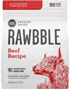 Bixbi Rawbble 30oz Beef