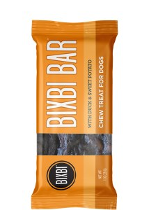 Bixbi 1oz Duck & Sweet Potato Bar