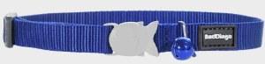 Red Dingo Dark Blue Cat Collar