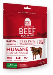 Open Farm Beef Treats 4.5oz
